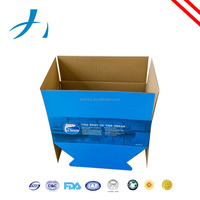 eco-friendly brown craft corrugated carton box for shipping and packaging