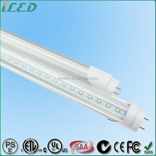 AC 100-277V 50~60Hz Hanging Led T8 Lamp 24 Watt 1.2m Led Tube Light 2400 Lumen