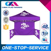 Quality Guaranteed Low Cost Customized Logo Tent For Stall