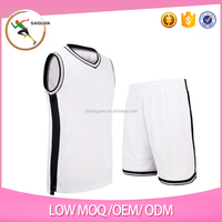 Custom cheap price quick dry sublimation basketball uniform