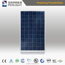 China Supplier Perlight 250W 255W 260W 300W 305W 310W Poly Solar Panel with Inmetro for Brazil Market