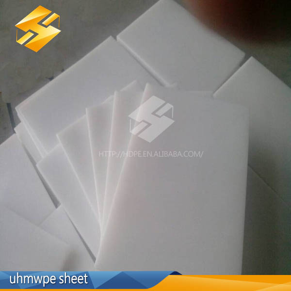 hot sale china engineering plastic product white thin wear uhmwpe boards