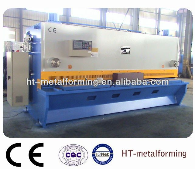 hydraulic guillotine shearing machine 4m QC11Y-12X4000 hydraulic metal plate shears machine