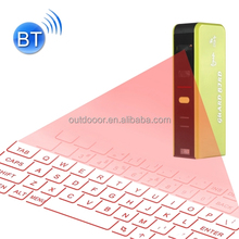Mini Pocket Virtual Bluetooth V3.0 Laser Projection Keyboard for Android