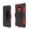 Heavy Duty Shockproof Outdoor Sport Tough Armor Case Impact Hybrid Kickstand Case with Clip Bracket for LG V20 H910 H990