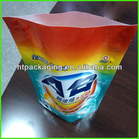 High quality stand up laundry detergent bag