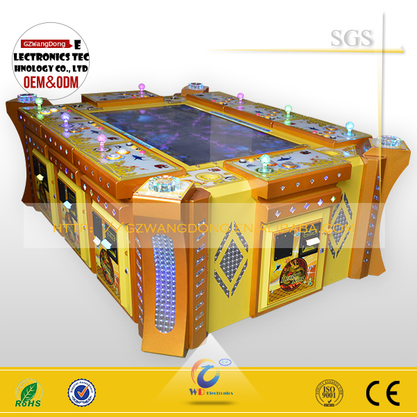 Coin pusher 2 player fishing game machine for CASINO