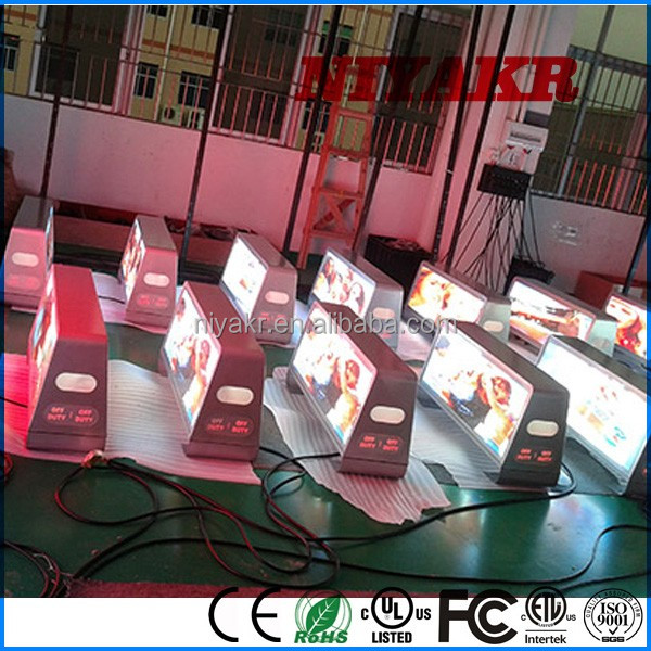 p5 p6 taxi led advertising board truck outdoor full color bus led display mobile led screens for sale