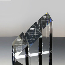 Classical corporate gifts clear crystal academy award trophy