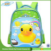 Wholesale New Design Kids Comfortable School Bag With Printing Duck