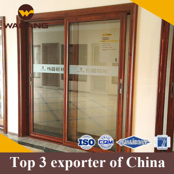 Design factory price commercial exterior china aluminum door price