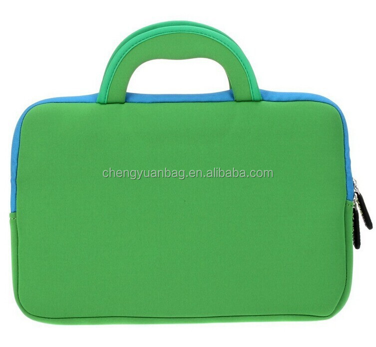 14 inch neoprene laptop sleeve with handle