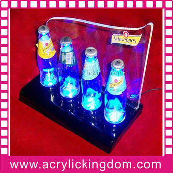 LED acrylic wine rack