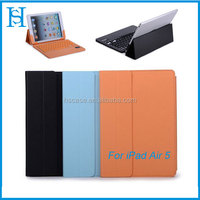 Bluetooth keyboard High quality case For Ipad Air 5