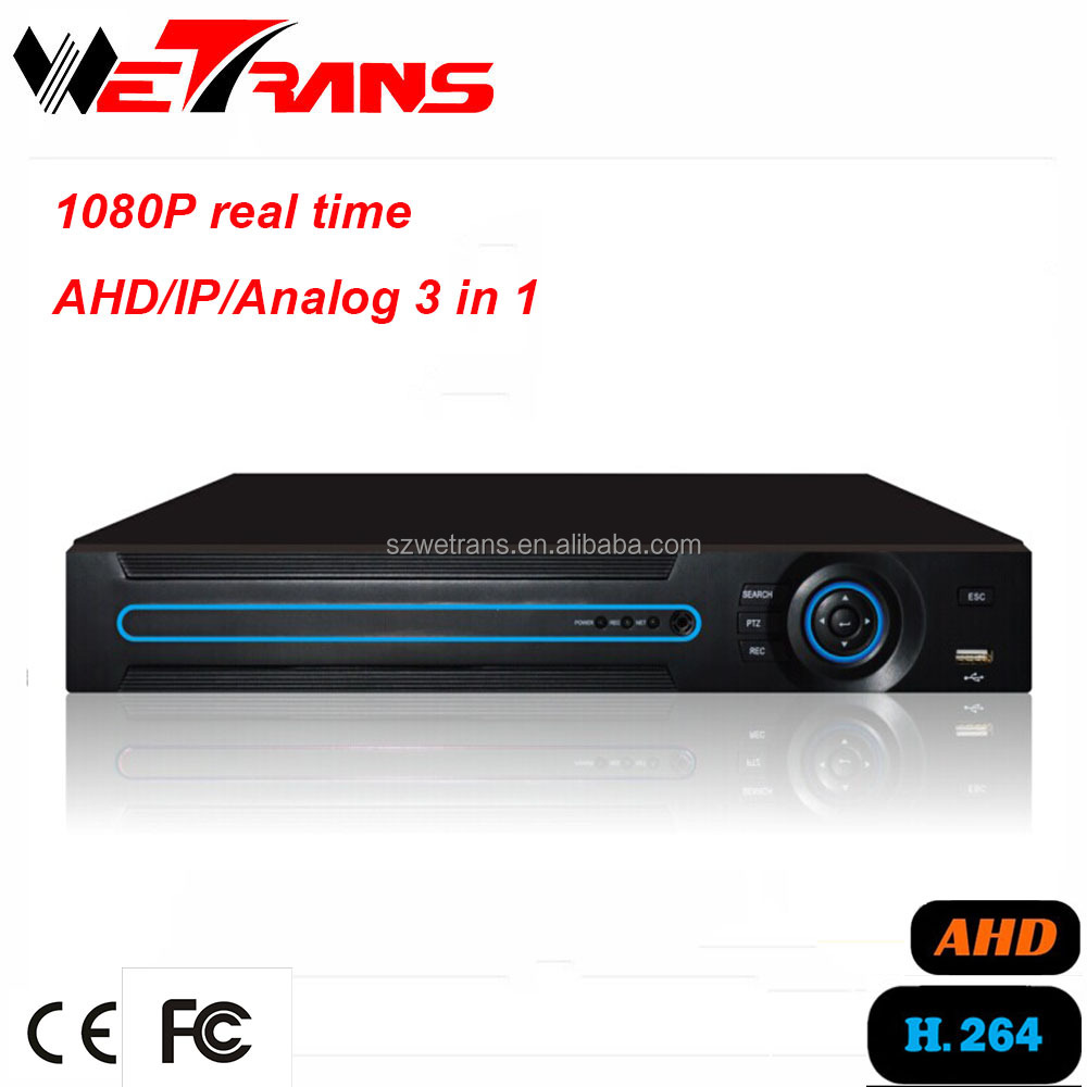 2016 New Product AVR3404PD Hybrid 3 in 1 Network 4CH AHD 1080P Xmeye Cloud Technology CCTV DVR