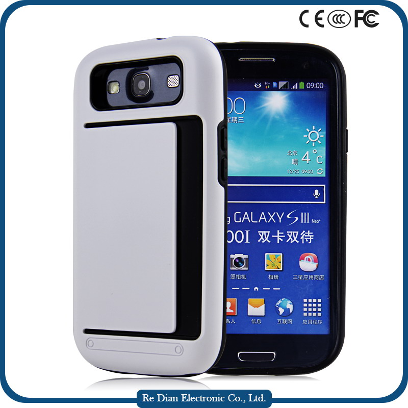 Luxury Fashion Soft TPU + Hard PC Protective Case for Samsung i9300 Galaxy S3