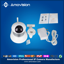 IR Cut Pan Tilt PIR sensor 1MP 720P 2 WAY Audio Support Night Vision Mini Robot Ball Wifi iP Camera.