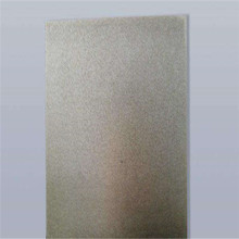 White transparent fire-resistant mica sheet for lamp shades
