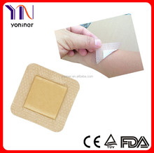 medical silicone foam dressing for wound care and treatment of pressure ulcers