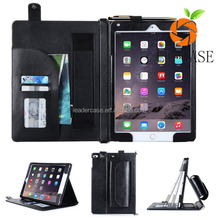 New Arrives Smart Stand Wallet Folio Flip Cover Tablet Leather Case For iPad pro