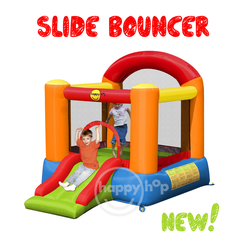 Happy Hop Inflatable Bouncer-9004B Slide Bouncer,airflow bouncer for kids