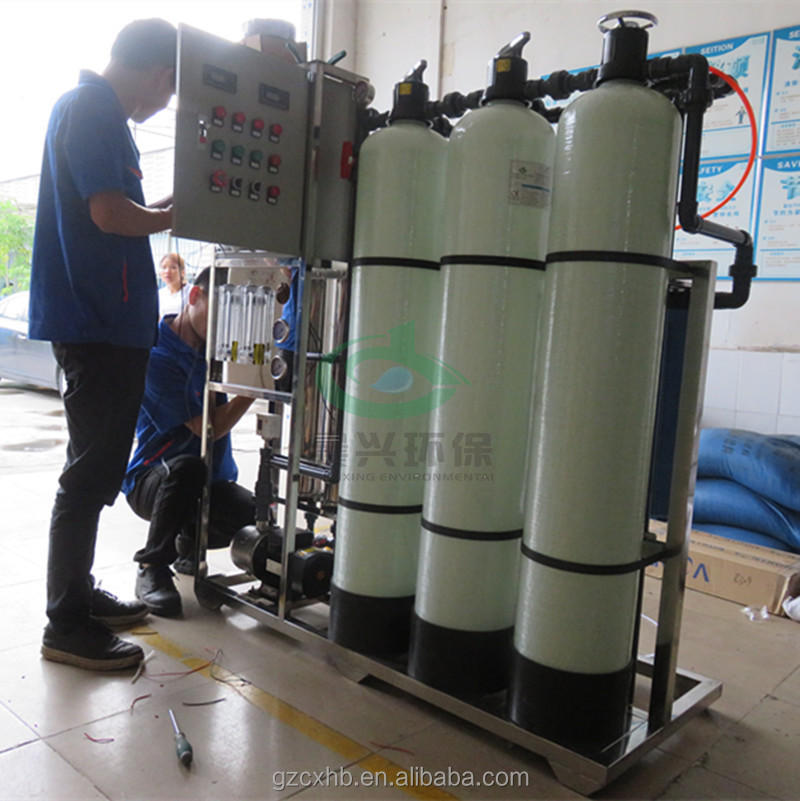 500lph mini mobile ro water treatment plant manufactures