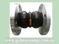 Double Sphere flexible rubber joint flange