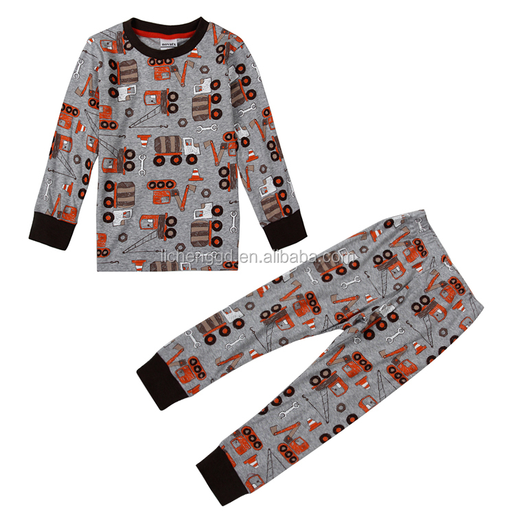 (AB6441)24m-6y grey NOVA baby boy sleepwears 2015 autumn/spring/winter cotton sleepwears child wholesale clothing PROMOTION