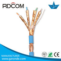 Mobile network solution / stp white pvc copper communication cable