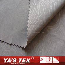 Wholesale Fashion Breathable Polyester Embossed Strtech Fabric For Outdoor Garment