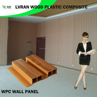 eco friendly material wood plastic composite interior wall decorative panel