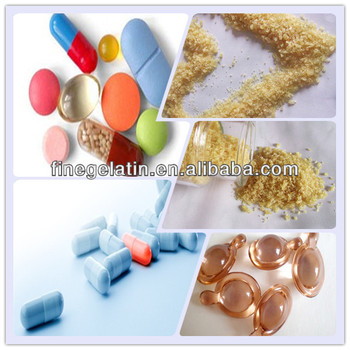 food gelatin pharmaceutical grade/medical porcine gelatin/170 bloom pig gelatin