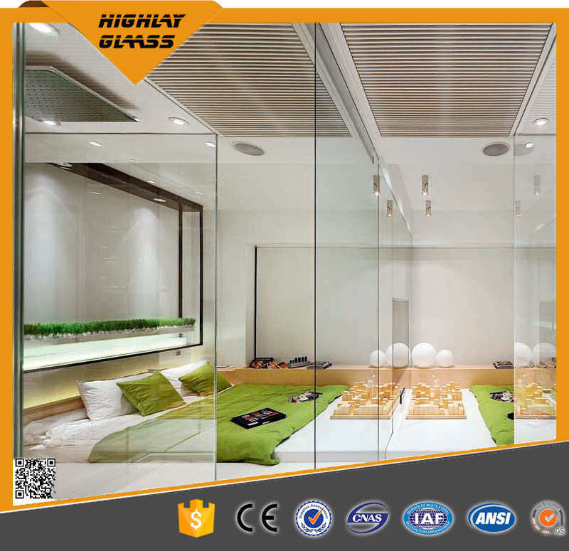 Top Quality Living Room Partition Door with Tempered Glass