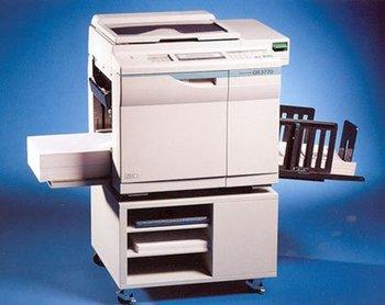 riso copy machine
