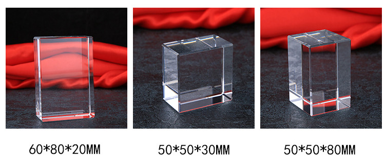China wholesale high quality and clear custom 3D laser crystal craft souvenirs