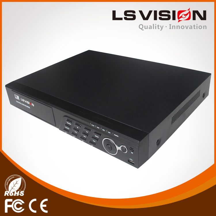 LS VISION 8CH 3.0MP 1080P Hybird AHD TVI CVI CVBS IP CCTV DVR NVR 5 in 1 support 3G P2P