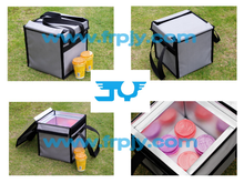 Refrigerating Delivery Bag can carry Ice Cream,Frozen fresh food and hot coffee etc.