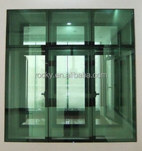 Aluminum frameless casement windows
