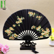 Chinese bamboo wedding favors gift hand fan