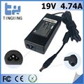High quality factory Laptop Adapter Tingxing brand for samsung 19V4.74A90W Notebook charger5.5*3.0MM