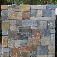 Natural Wall Cladding Decorative Castle Rock Stone Tile