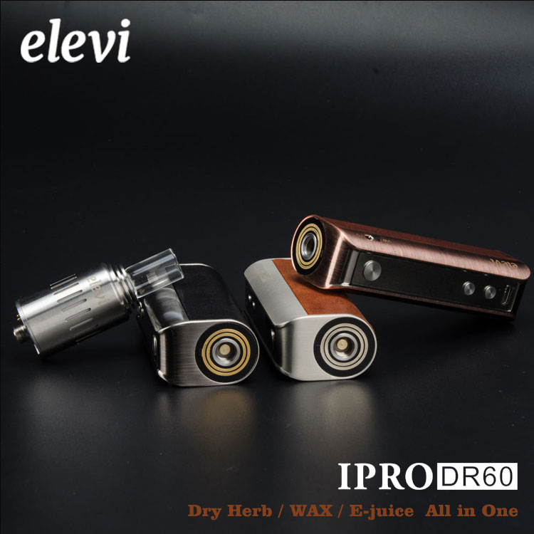 All in one!!! 2017 newest &unique dry herb, wax, eliquids ipro DR60 glass meth smoking pipe