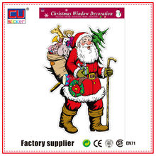 Factory offer Christmas wall sticker printing machine decor room