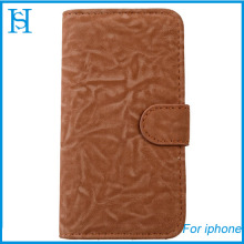 Luxury genuine leather phone case for iphone 5 5s phone cover