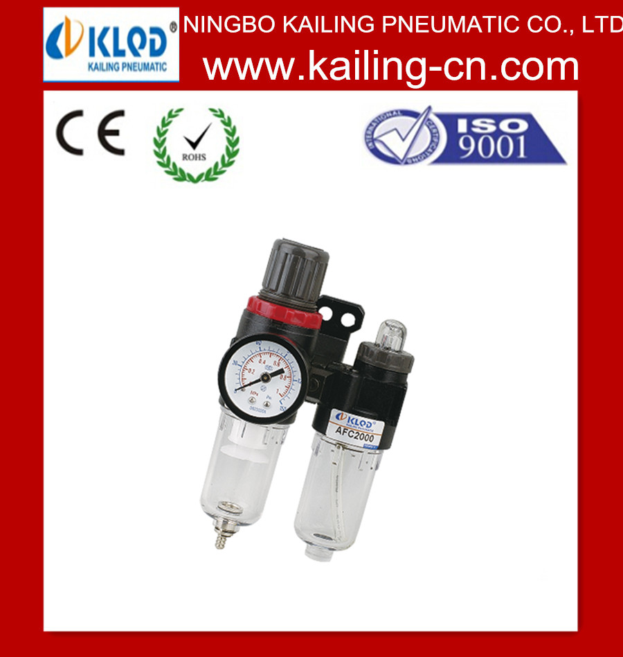 AFC2000(1500) F.R.L Combination,air filter regulator & lubricator, air preparation