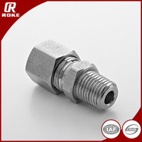 SS316 NPT Threaded Hydraulic Reducing Fittings