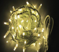 Safety Design Led String Fairy Light, JIAFENG Low Voltage Plug Waterproof 33 Ft/10M 100 Led 8 Modes, for Outdoor Indoor Wedding