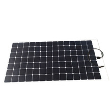 Hot Sale high efficiency 50W 60W 80W 100W 120W 150W 200W 250W 300W Flexible Mono PV Solar Panel, Flat Solar Panel