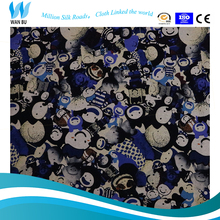 Digital fabric abstractive printing for children fabric printing service