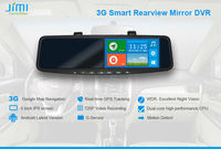 JiMi 2014 Newest 3G Smart Rearview Mirror DVR rugged smartphone android 3g gps dual sim